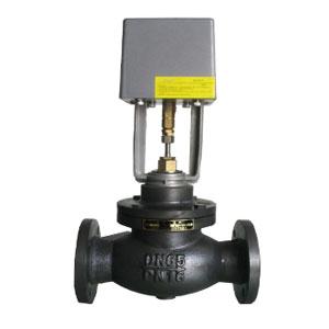 VB7200电动二通阀(铸铁法兰)